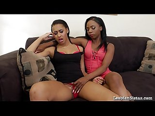 Hot Black Lesbians Really Know How to Please Each Other!