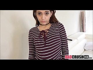 Tiny teen stepdaughter fucked