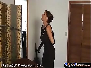 image German boy caught stepmom naked and seduce to fuck