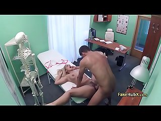 Mindblowing hard fuck in hospital