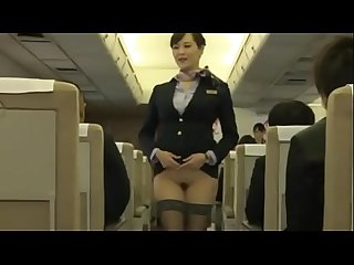 Asian Japanese mature airline stewardess's nude service - ReMilf.com