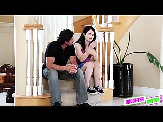 Sexy hot teen nami making it with her bffs stepdad