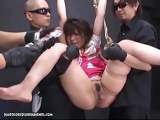 Oriental BDSM With Hairy Asian Teen