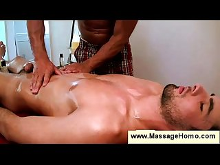Gay masseur drives a boy crazy