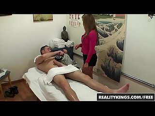 Asain masseuse (Mia Lelani) Gives happy rubs and rides cock - Reality Kings