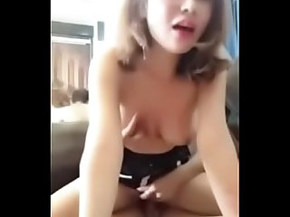 Chinese Girl homemade sex scandal leaked sex tape cute 5
