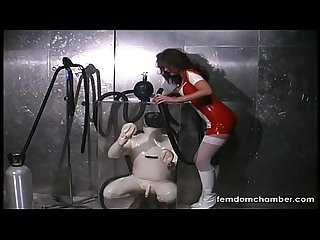 Erotic asphyxiation breath play femdom