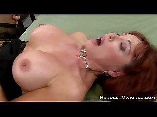 Redhead MILF Rhonda Gets Eaten Out