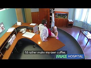 Fakehospital perfect sexy blonde gets probed and squirts