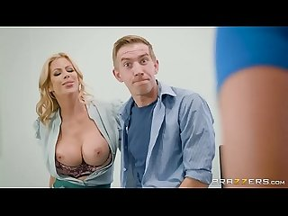 Brazzers lucky guy fucks class mate and teacher