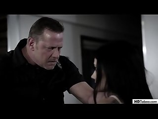 Virgin teens fuck a cop to get out of being arrested - Tiffany Watson and Adria Rae at PURE TABOO