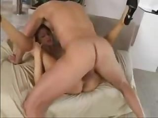 Amazing blonde monica anal creampie