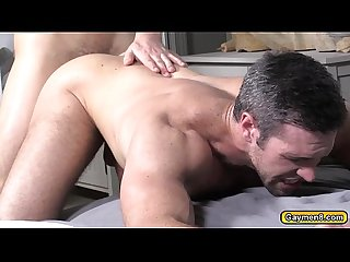 Alex anal fuck in front of his husband