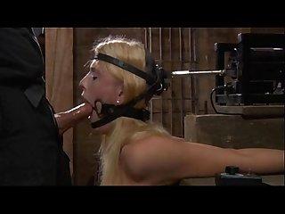 Human blowjob fucking machine