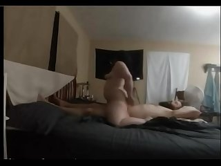 Big Butt Farting on Cock (smelly)