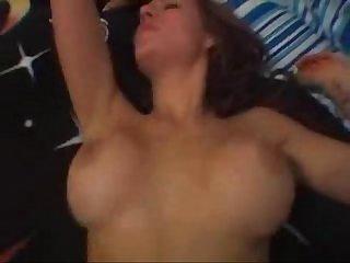 Young Hot Amateur Brunette Girl Fucking