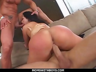 MomsWithBoys - This MILF Just Can't Get Enough With Double Penetration