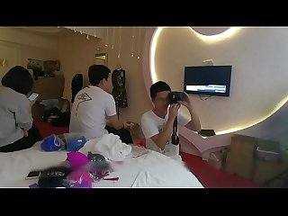 Chinese backstage hotel room candid cam 07