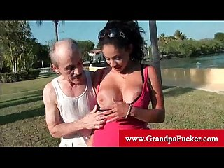 Jamie valentine wants old man cock now