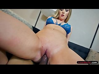 Long blonde hair chick Harley Jade nailed by stepbro