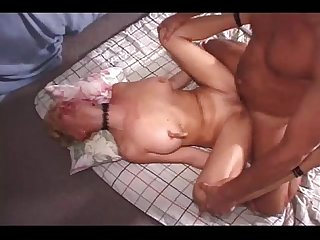 Mature threesome with facial cumshot