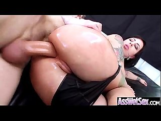 Big butt girl dollie darko get oiled and anal hardcore nailed clip 08