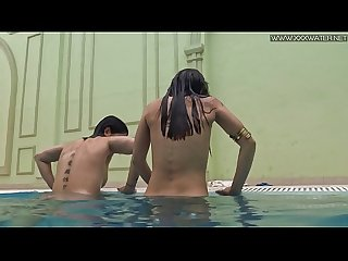 Spanish teen lady dee and russian teen lizzy vogue