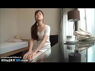 Japanese beauty hot blowjob in hotel more at elitejavhd com