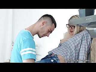 Casual Teen Sex - Teeny Cornelia casual sex breakfast