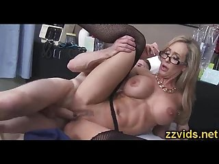 Busty blonde milf brandi love riding cock