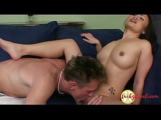 Very pretty tight big butt asian riding the cock hard long with wet cunt
