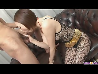 Rina Yuuki is an Asian chick that craves for man-meat - More at Slurpjp.com