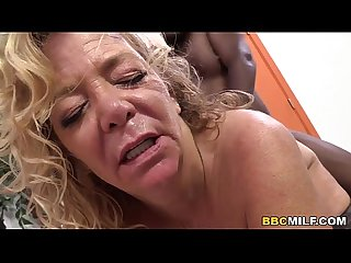 Cougar karen summer tries bbc first time