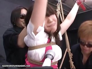 Japanese bondage sex pour some goo over me pt 1