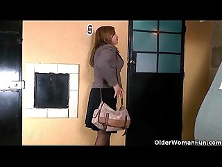 Pantyhosed office milfs show us their best kept secret