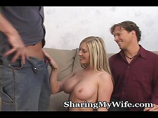 Hubby approves of sharing his wife
