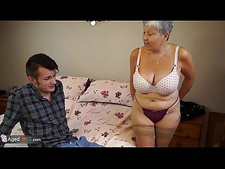 Agedlove granny savana fucked with really hard stick