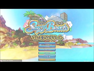 Sexy Beach Premium Resort Gameplay - Hentai Game