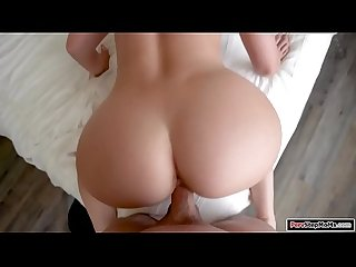 Stepmom comes home to suck stepsons cock