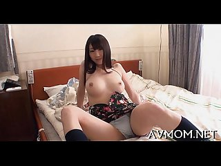 Milf oriental slut and 3 dicks