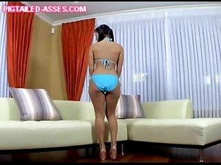 Big bikini ass