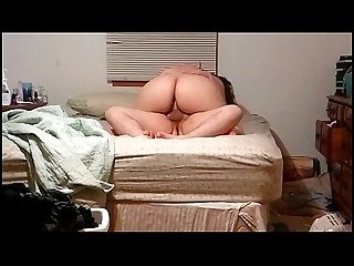 Creampie Inside of a BBW Wife