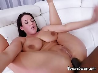 Luscious Babe Angela White Has Her Anus Plowed