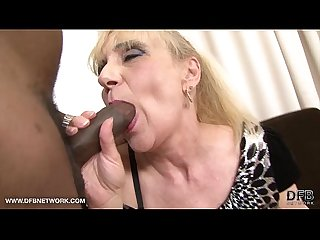 Granny anal fuck wants black cock in her ass interracial anal sex