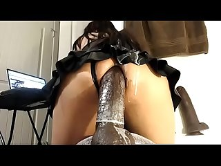 extremeanal1 anal penetration dildo in her ass sexy shemale slut