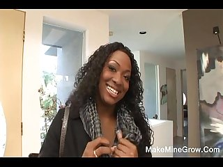 Facial Cum To Hot Ebony Aryana