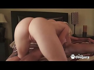 MILF Krissy Lynn Treats Her Man To A Little Doggystyle