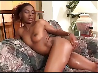 Hot anal ride for a black filly in heat!