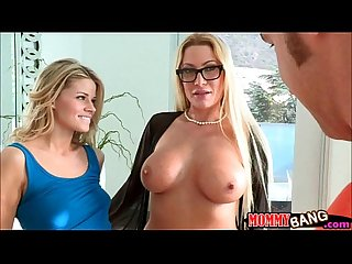 Teenie jessa rhodes 3some with stepmom and boyfriend
