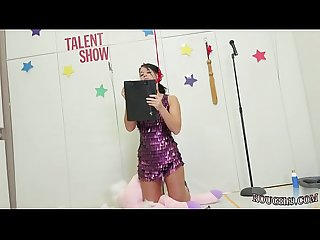 Hot teen blowjob cum in mouth talent ho